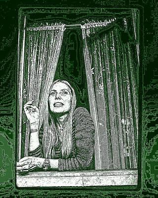 Art Print featuring the photograph Joni by Allen Beilschmidt