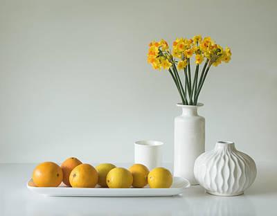 Jonquils And Citrus Art Print