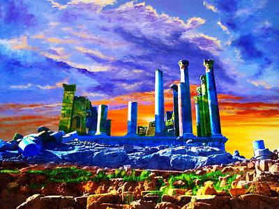 Rum Painting - Jordan 04 by Catf