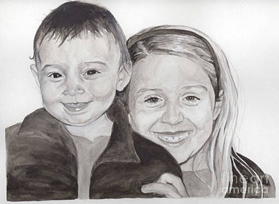 Painting - Jordan And Chey Chey by Tamir Barkan