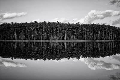 Photograph - Jordan Lake Reflections V by Ben Shields