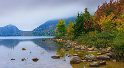 Jordan Photograph - Jordan Pond In Acadia National Park by Henk Meijer Photography