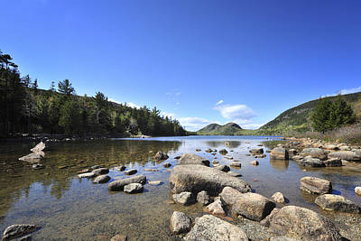 Jordan Photograph - Jordan Pond by Terry DeLuco