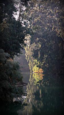 Baptism Photograph - Jordan River At Yardinet by Stephen Stookey