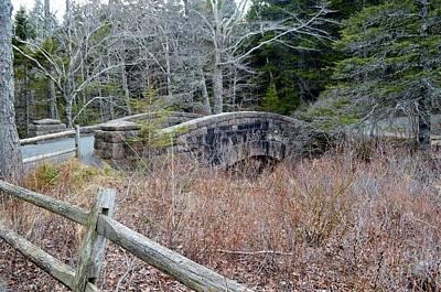 Jordan Stream Bridge Acadia Maine Original