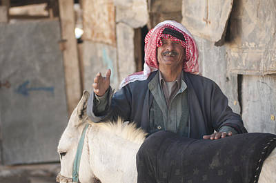 Photograph - Jordanian Bedouin by Don Wolf