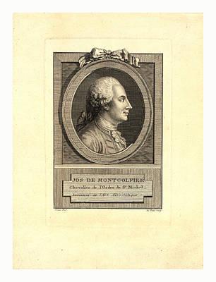 Jos. De Montgolfier Art Print by English School