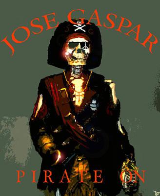 Jose Gaspar Poster Work 2014 Art Print