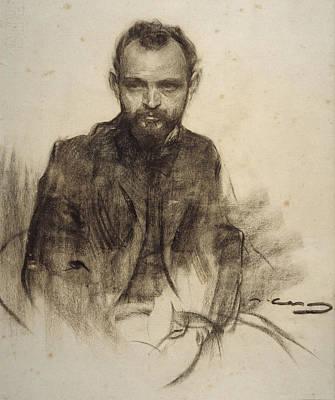 Drawing - Josep Clara by Ramon Casas