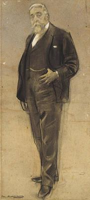 Drawing - Josep Coll I Britapaja by Ramon Casas