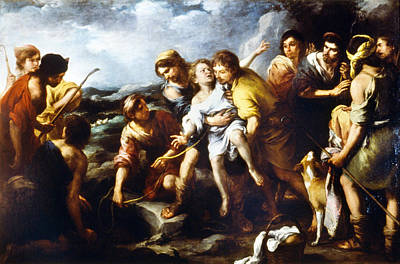 Painting - Joseph And His Brethren by Granger