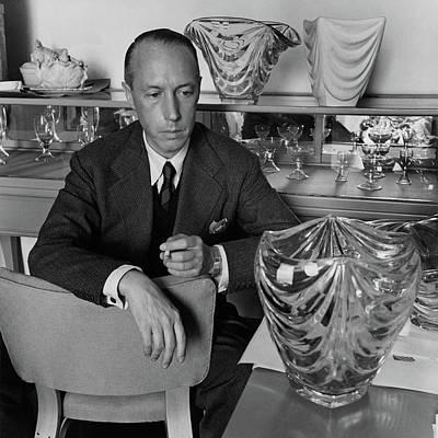 Joseph Photograph - Joseph B. Platt With A Vase Of His Own Design by Luis Lemus