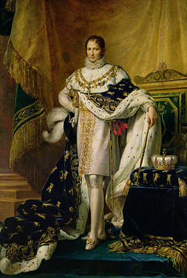Joseph Bonaparte 1768-1844 After 1808 Oil On Canvas Art Print by Francois Pascal Simon, Baron Gerard