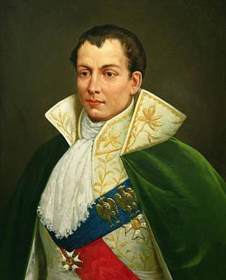 Cravat Photograph - Joseph Bonaparte 1768-1844 Oil On Canvas by Luigi Toro