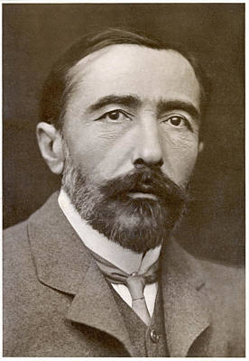 Joseph Conrad  Polish-born Writer Art Print by Mary Evans Picture Library