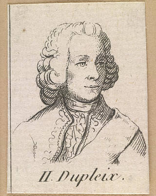 Seven Years War Photograph - Joseph Francois Dupleix by British Library