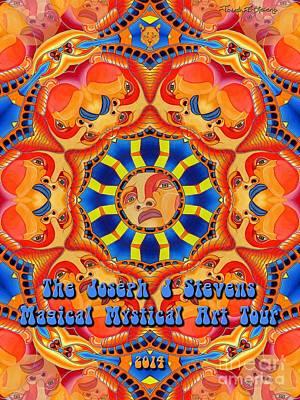 Joseph J Stevens Magical Mystical Art Tour 2014 Art Print