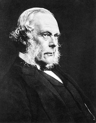 Joseph Lister Art Print by National Library Of Medicine