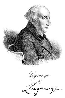 Painting - Joseph Louis Lagrange (1736-1813) by Granger