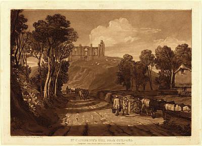 Joseph Mallord William Turner And J.c Art Print