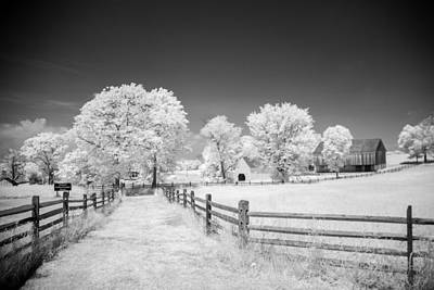 Photograph - Joseph Poffenberger Farm 8d00231 by Guy Whiteley