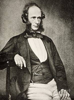 Biface Photograph - Joseph Prestwich, British Geologist by Paul D. Stewart