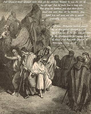 Joseph Sold Into Egypt Art Print