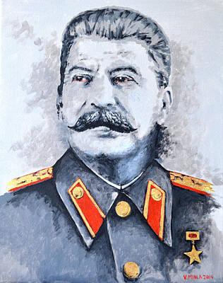 Joseph Stalin Art Print