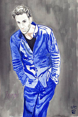 Painting - Joseph by Sylvie Proidl