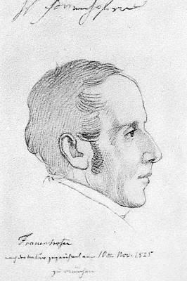 Joseph Von Fraunhofer (1787-1826) Art Print by Granger