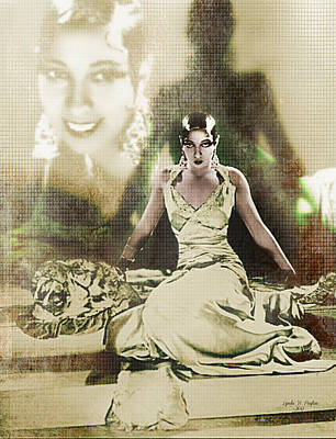 Josephine Baker 2 Art Print