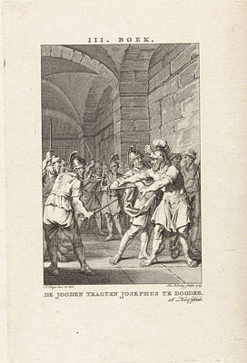 Josephus Threatened With Murder, Theodoor Koning Art Print by Quint Lox