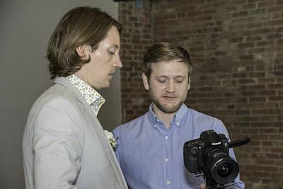 Photograph - Josh And Lb by David Waldrop