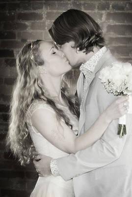 Photograph - Josh And Sarah Infra by David Waldrop