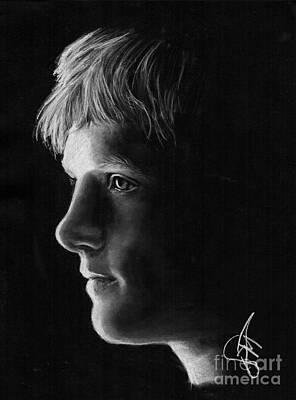 Josh Hutcherson Original by Rosalinda Markle