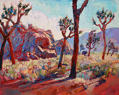 Painting - Joshua In Light by Erin Hanson