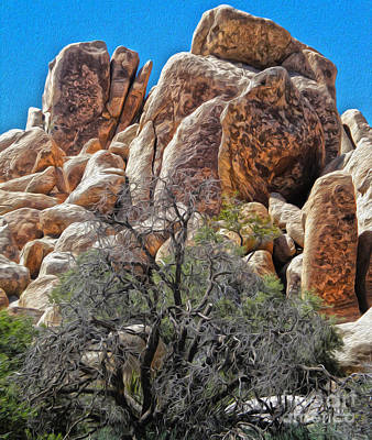Photograph - Joshua Tree - 05 by Gregory Dyer