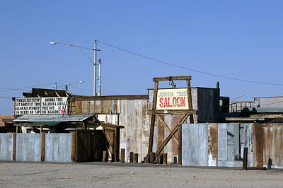 Photograph - Joshua Tree Saloon In Joshua Tree by Carol M Highsmith