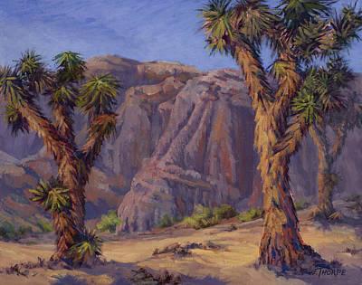 Joshua Trees- Mojave Art Print by Jane Thorpe