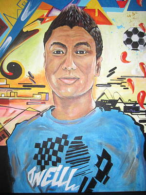 Painting - Josias 1991-2012 by Erik Franco