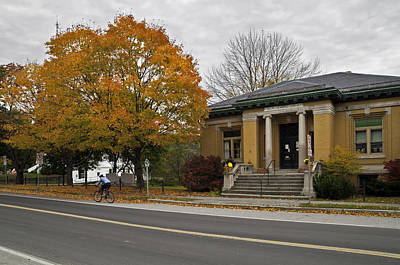 Photograph - Joslin Memorial Library by David Freuthal