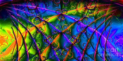 Fractal Geometry Digital Art - Journey 20130511v1 Long by Wingsdomain Art and Photography