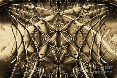 Fractal Geometry Digital Art - Journey 20130511v2 by Wingsdomain Art and Photography