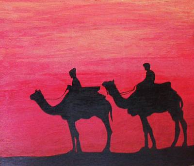 Painting - Journey Back Home by Surbhi Grover