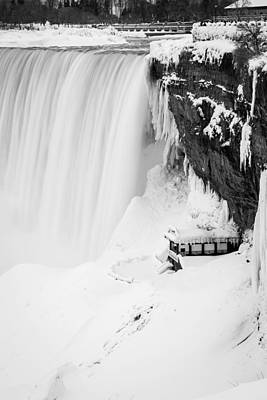 Photograph - Journey Behind The Falls by Edser Thomas