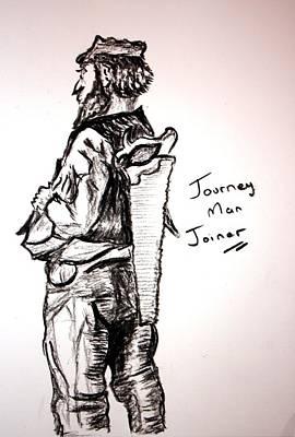 Paul Morgan Painting - Journey Man Joiner by Paul Morgan