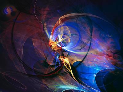 Fantasy Digital Art - Journey Of The Soul by Modern Art Prints