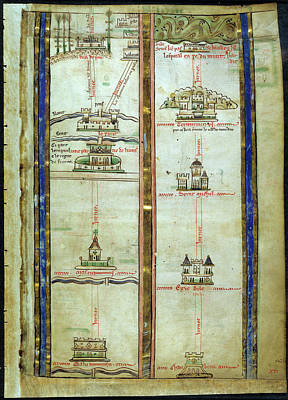 Journey To Jerusalem Art Print