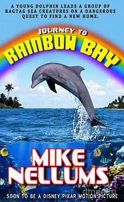Pocketbook Cover Design Photograph - Journey To Rainbow Bay by Mike Nellums