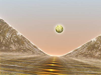 Journey To The Dead Dunes. 2013 80/60 Cm.  Original by Tautvydas Davainis